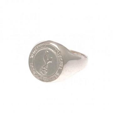 Tottenham Hotspur Sterling Silver Ring - Small